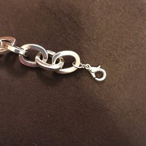 """n/a Jewelry - Silver Tone Chain Link Necklace (17"""")"""